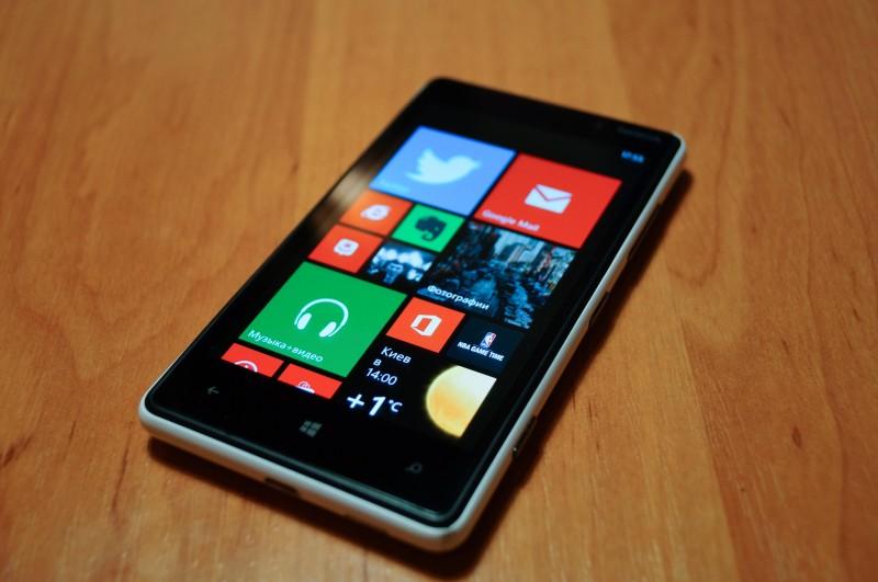 windows phone 10 на lumia 820