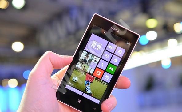 эргономичный Nokia Lumia 520